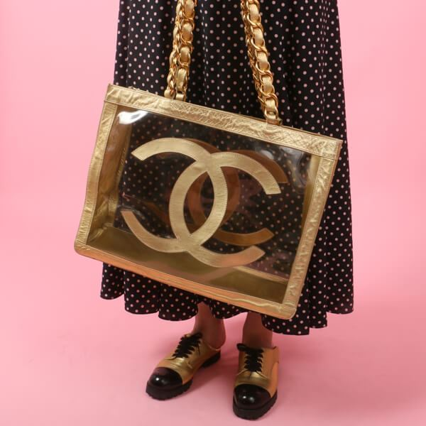 chanel-cc-mark-chain-tote-bag-cleargold