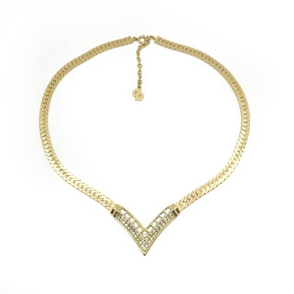 dior-vintage-v-necklace-crystal-gilt-1990s