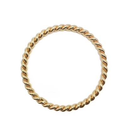 grosse-vintage-bangle-gilt-twist-1970