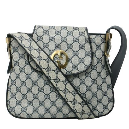 gucci-gg-pattern-logo-plate-shoulder-bag-navy