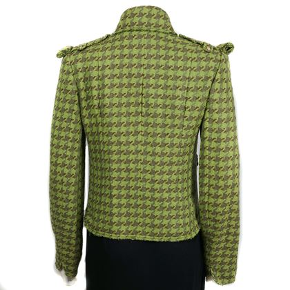 Chanel 08C Houndstooth Jacket - Us 6