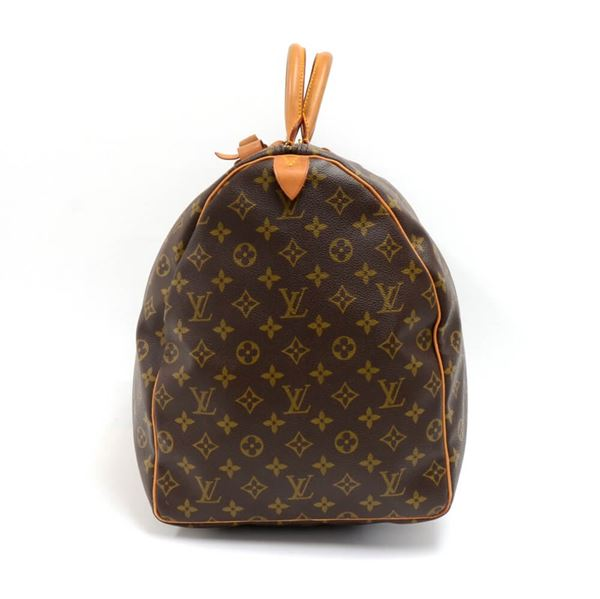 Vintage Louis Vuitton Keepall 60 Monogram Canvas Duffle Travel Bag 6ccec43674ef6