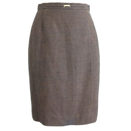 1980s-escada-by-margaretha-ley-brown-black-pique-wool-pencil-skirt