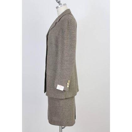 brioni-romina-vintage-womens-brown-wool-skirt-suit-made-in-italy-1980s