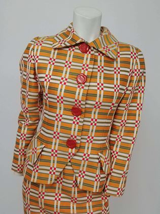 bill-blass-orange-plaid-skirt-suit-with-wax-seal-buttons-1980s
