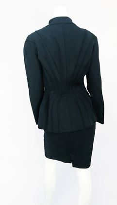 1980s-theirry-mugler-black-jacket-and-skirt-set