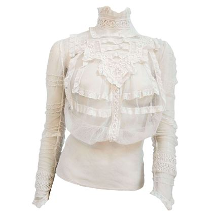 1900s-white-lace-sheer-mesh-blouse