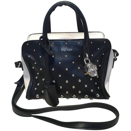 alexander-mcqueen-mini-studded-padlock-zip-around-black-and-white-tote-bag