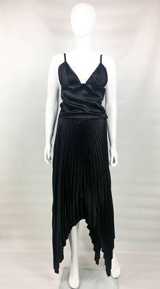 dior-by-marc-bohan-haute-couture-black-silk-pleated-dress-1983