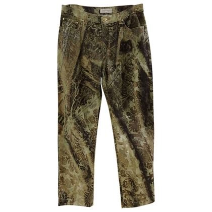 roberto-cavalli-green-gold-trousers