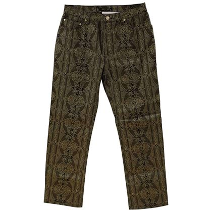 roberto-cavalli-green-gold-trousers-2