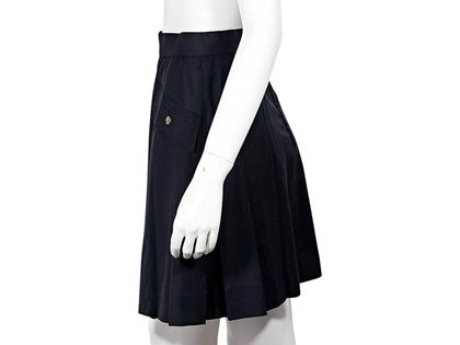 navy-blue-vintage-chanel-pleated-skirt