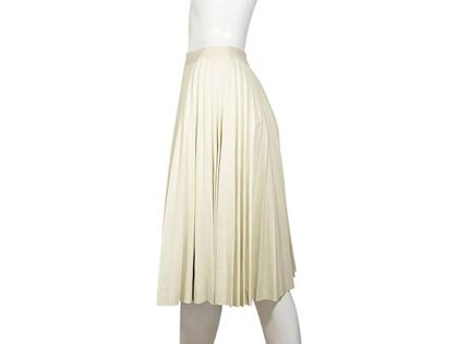 theory-pleated-ivory-leather-skirt