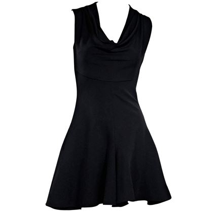 cushnie-et-ochs-black-fit-and-flare-dress