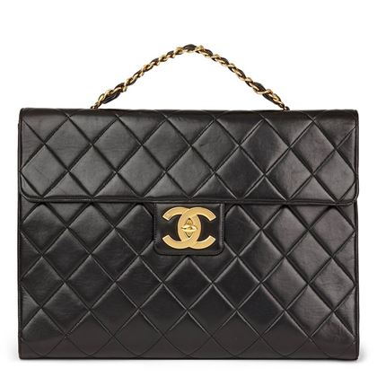 black-quilted-lambskin-vintage-jumbo-xl-classic-briefcase