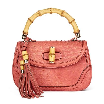 coral-ostrich-leather-bamboo-classic-top-handle