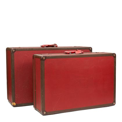 red-textured-calfskin-leather-vintage-suitcase-pair