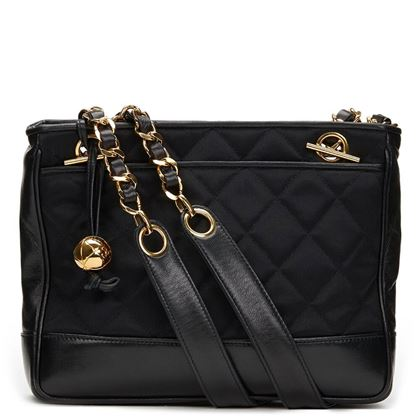 black-satin-lambskin-vintage-mini-timeless-shoulder-bag