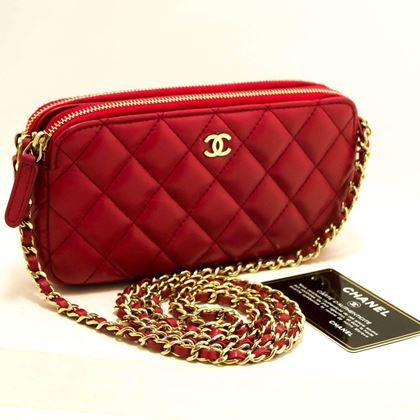 chanel-red-wallet-on-chain-woc-double-zip-chain-shoulder-bag-3