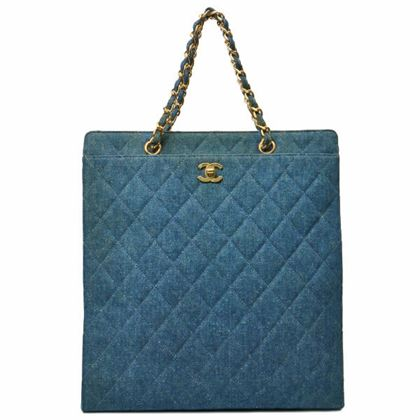 chanel-denim-matelasse-plate-chain-tote-bag-blue