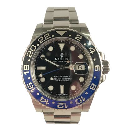Picture of Rolex GMT Master II Batman Mens Watch