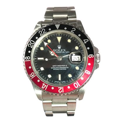 "Picture of Rolex GMT Master II ""Coke""Unisex Watch"