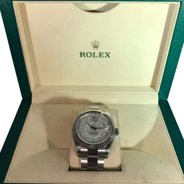Picture of Rolex Sky Dweller Stainless Steel Mens Watch