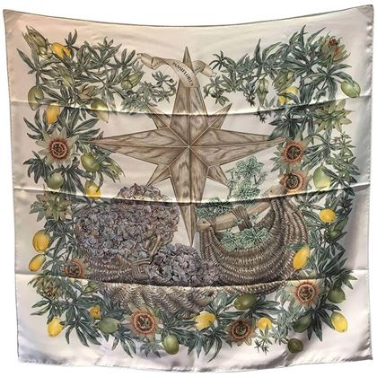hermes-passiflores-silk-scarf-c1996-in-cream
