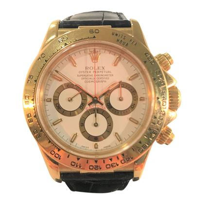 Picture of Rolex Yellow Gold Daytona Unisex Watch