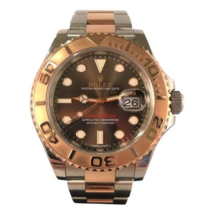 Picture of Rolex  Yachtmaster II Rose Gold & Steel Unisex Watch