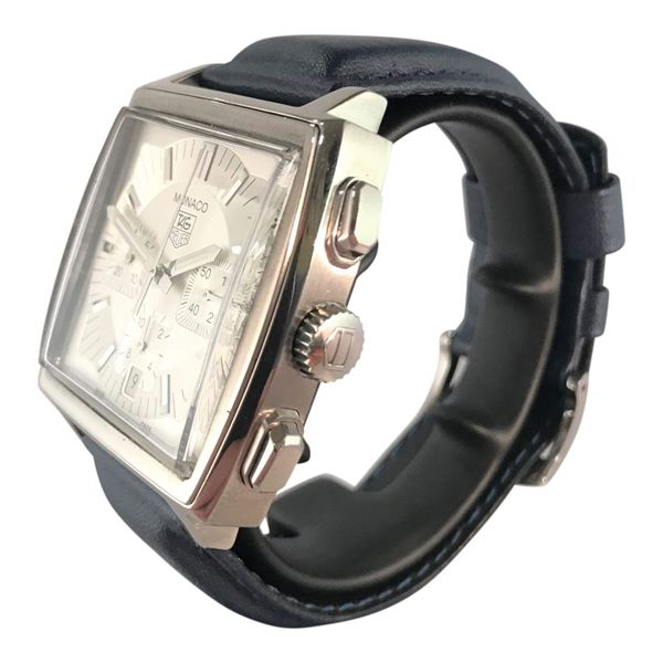 Picture of Tag Heuer Monaco Stainless Steel Mens Watch