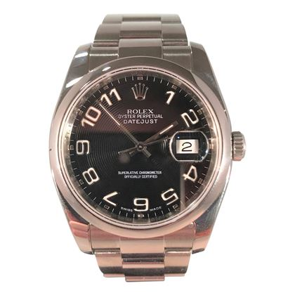 Picture of Rolex Stainless Steel Date Just Unisex Watch