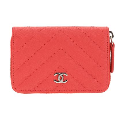chanel-red-caviar-leather-o-coin-zip-purse-shw