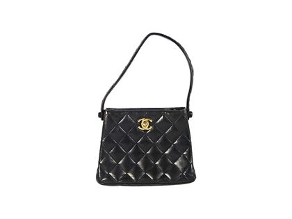 black-chanel-quilted-leather-mini-evening-bag