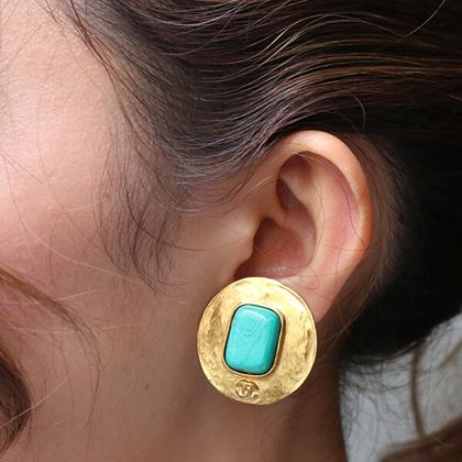 chanel-turquoise-round-cc-mark-earrings-turquoise