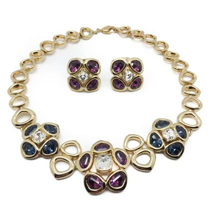 dior-vintage-set-necklace-earrings-crystals-gold-plated-1990s