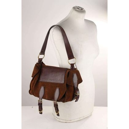 suede-and-leather-flap-shoulder-bag