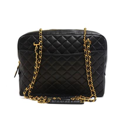 chanel-14-black-quilted-lambskin-leather-xl-tote-shoulder-bag-2