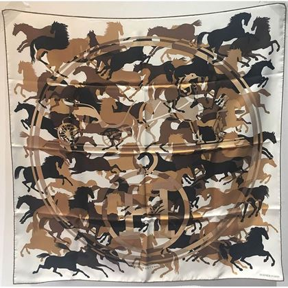 hermes-ex-libirs-en-camouflage-silk-scarf-in-tan-black-and-white