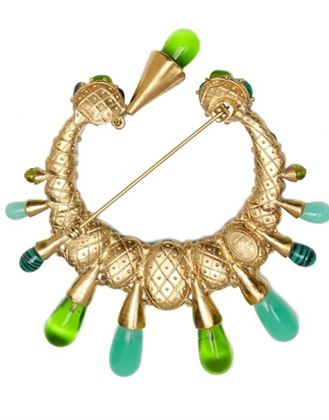 large-christian-dior-crescent-brooch-with-tear-drop-and-green-glass-cabochons