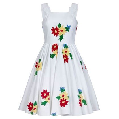 french-1950s-white-cotton-summer-dress-with-embroidered-chenille-flowers-uk-6-8
