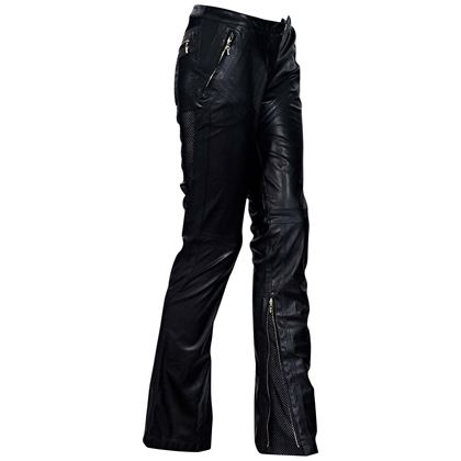 black-gianni-versace-couture-leather-pants