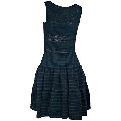 teal-blue-alaia-fit-and-flare-dress