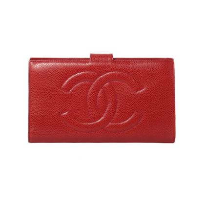chanel-caviar-skin-cc-mark-stitch-wallet-red-3