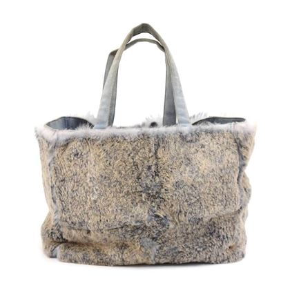 vintage-chanel-gray-lapin-fur-x-suede-leather-hand-tote-bag
