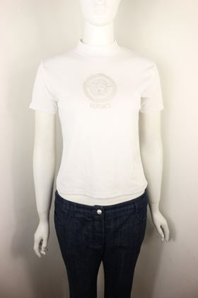 gianni-versace-jeans-couture-white-cotton-medusa-mock-neck-cropped-top