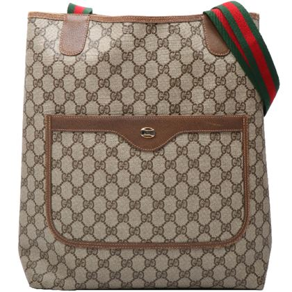 gucci-gg-pattern-logo-plate-web-detailed-tote-bag-brown