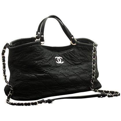 chanel-2-way-2012-chain-shoulder-bag-handbag-black-quilted-coated