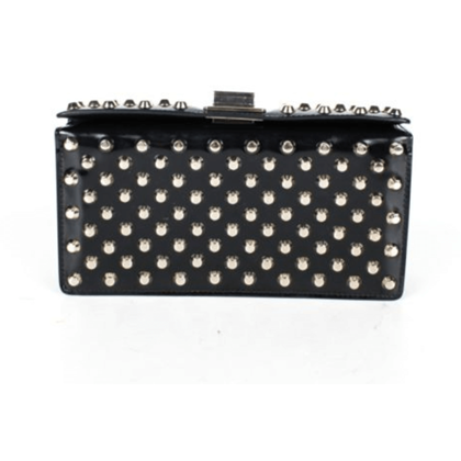 prada-black-leather-rare-small-studded-clutch-bag