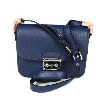 miu-miu-bandoliera-shoulder-bag-medium-navy-blue-leather-new